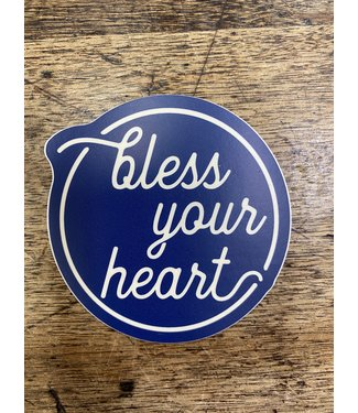 stickers NW Bless Your Heart Decal