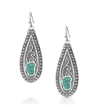 Country Roads Turquoise Earrings