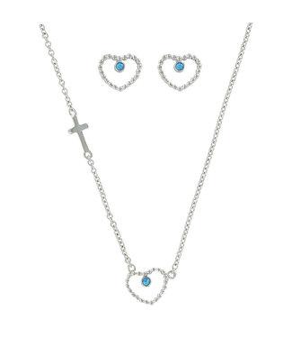 Beads of My Heart Opal Jewelry Set