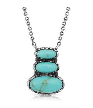 IllusionTurquoise Necklace