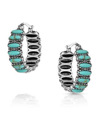 Turquoise Run Earrings
