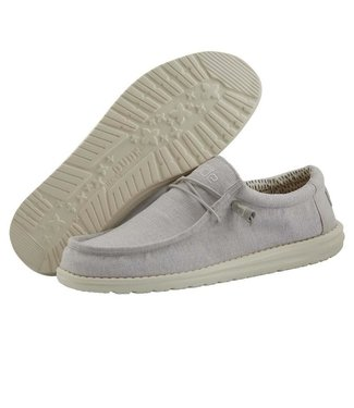 Hey Dude Wally Chambray Grey