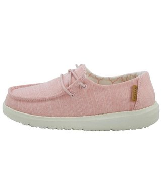 Hey Dude Wendy Youth Cotton Candy Linen