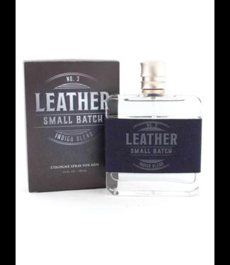 Leather No. 3 indigo