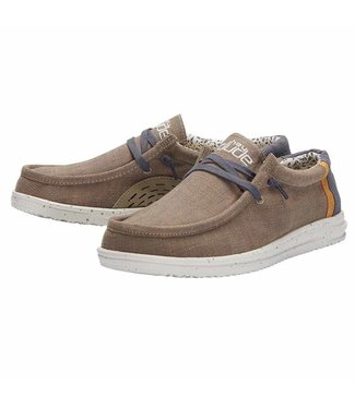 Hey Dude Wally Free Natural Beige
