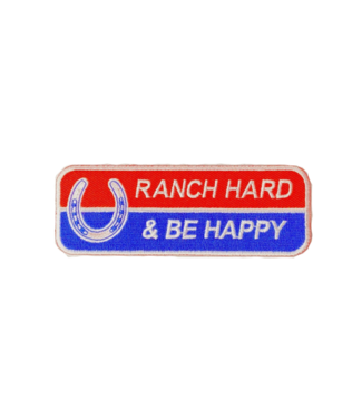 Dale Brisby Ranch Hard Be Happy Patch