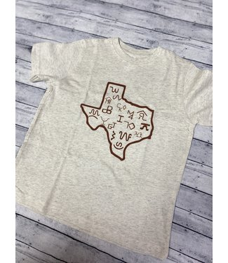 whole herd State Brands Tee