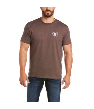 Ariat Intl DMND SS Tee Brown Heat 10035642