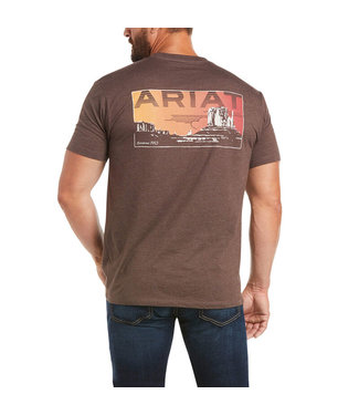 Ariat Intl Untamable SS Tee Brown Heat 10035632