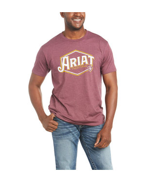 Ariat Intl Traditional SS Tee Burgundy 10035626