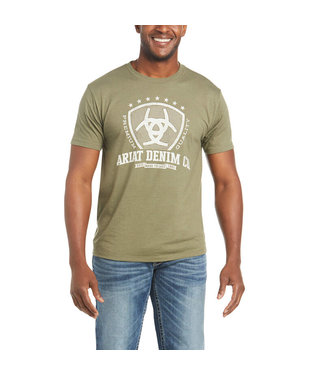 Ariat Intl Shield SS Tee Military Heat 10035624
