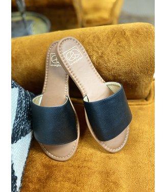 miami Shoe The Lulu Black Slide