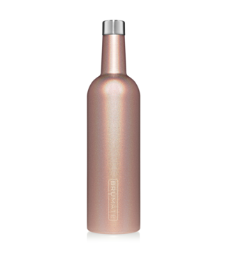brumate Winesulator Glitter Rose Gold