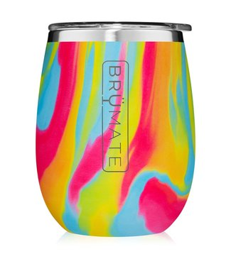 brumate UNcork'd XL Wine Tumbler Tie Dye