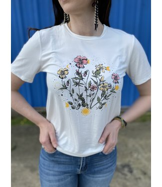Baevely The Wildflower Tee