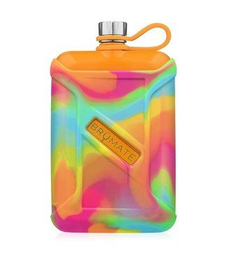 brumate Liquor Canteen Orange/ Tie Dye