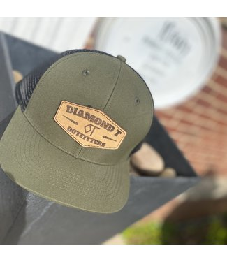 Diamond T Outfitters The Tack Cap Olive