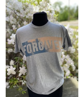 CRAZYCOOL THREADS Forgiven Watercolor Tee