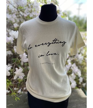 CRAZYCOOL THREADS Do Everything in Love Tee