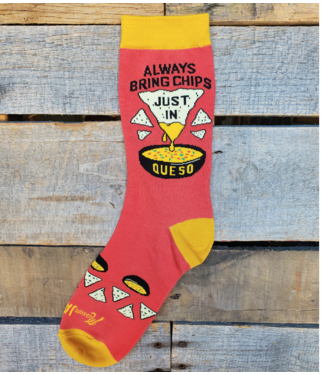 Mason Jar Label Queso Socks