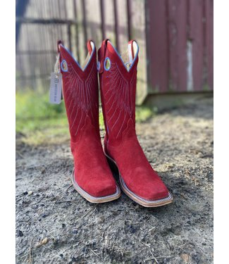 Anderson Bean Red Chap Suede