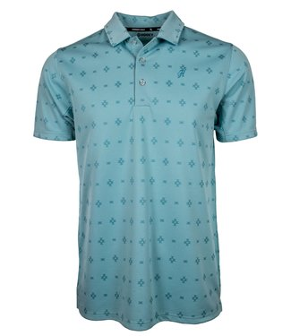 The Weekender Polo Turquoise