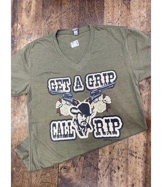 Ranch Swag Get A Grip Call Rip Tee