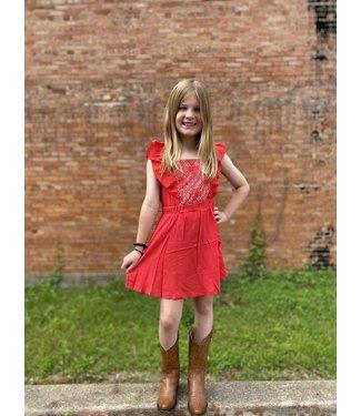 Wrangler GWD205R Girls Dress