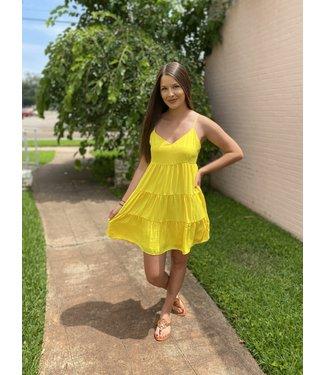 Diamond T Outfitters Lemon Crush Dress