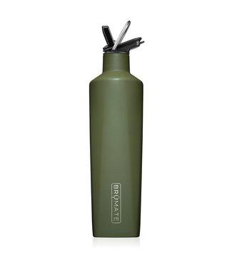 brumate Rehydration Bottle OD Green