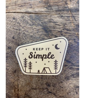 stickers NW Keep It Simple Decal