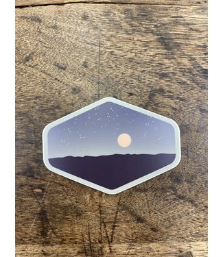 stickers NW Nighttime Panorama Decal