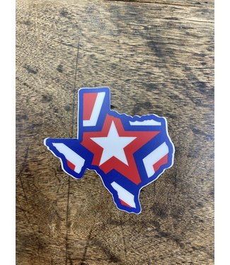 stickers NW Texas Star Decal