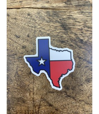 stickers NW Texas Flag Decal