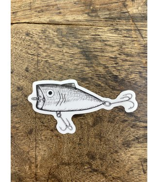 stickers NW Fishing Lure Decal