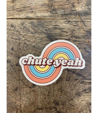 stickers NW Chute Yeah Decal