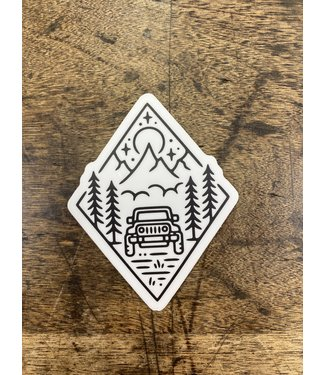 stickers NW Outdoor Jeep Decal