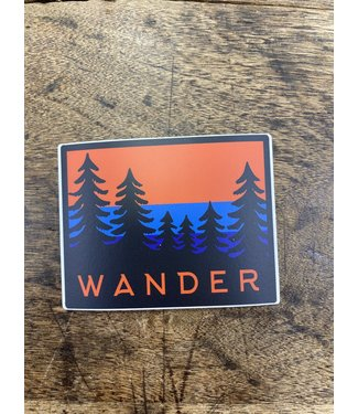 stickers NW Wander Trees Decal