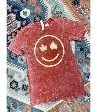 Turquoise Haven Happiest in Fall Tee