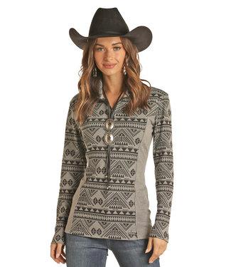 Panhandle Slim Ladies 1/4 Zip Pullover 51-1035