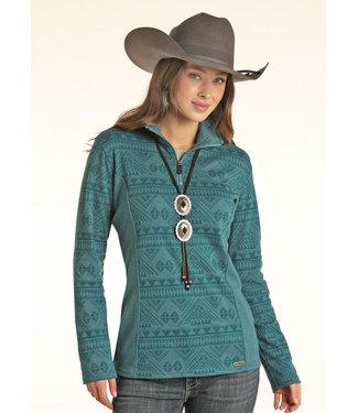 Panhandle Slim Ladies 1/4 Zip Pullover 51-1036