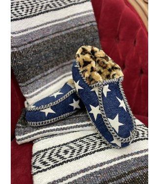 M&F Western Callie Fur Ankle Slipper