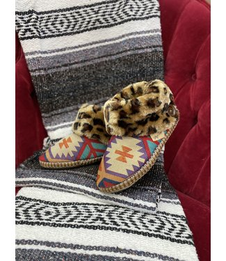 M&F Western Madeline Ankle Fur Slipper