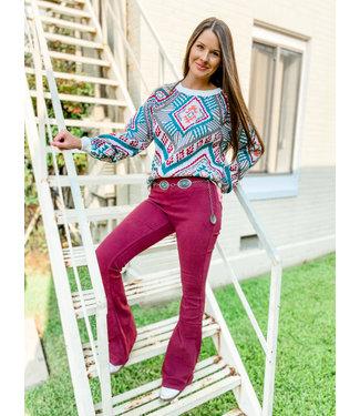 Panhandle Slim Ladies Sweater 46-1169