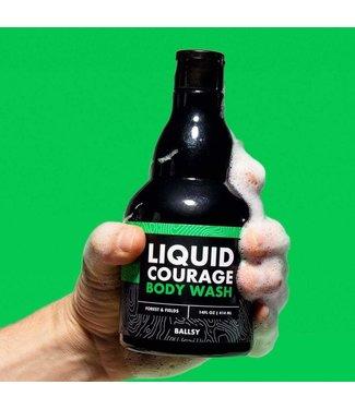 Ballsy Liquid Courage Body Wash Forest & Fields