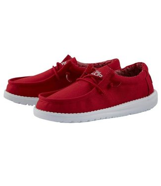 Hey Dude Wally Youth Red