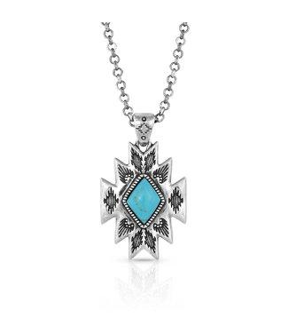 NC5036 Turquoise Star Pendan