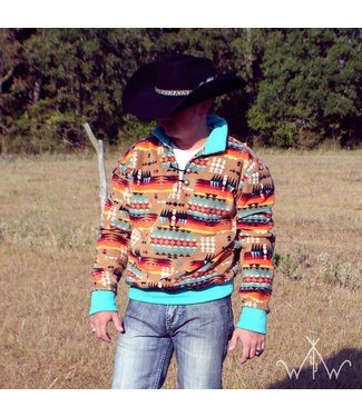 Western Wits Southern Sky Pullover