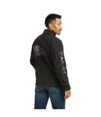 Ariat Intl Logo Patriot Jkt Black 10037439