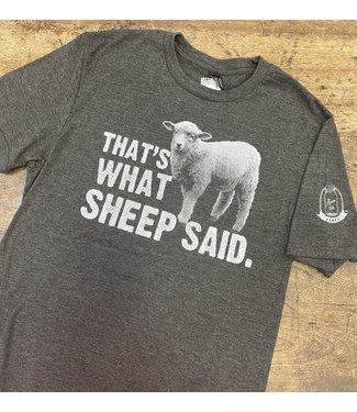 Mason Jar Label That's What Sheep Said Tee